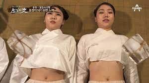 옛날 여자 노예들(후궁비슷)