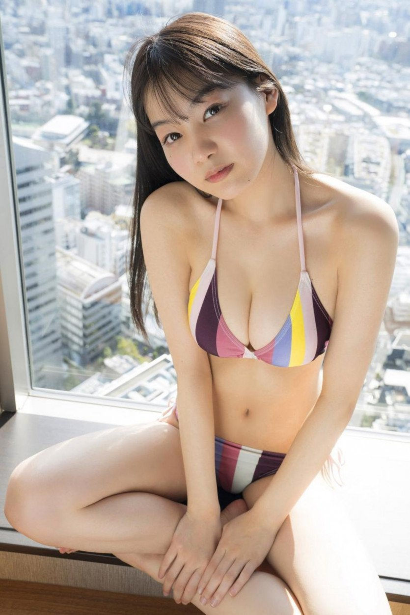 친한파 그라비아 모델 요시자와 하루나